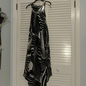 Midi length dress